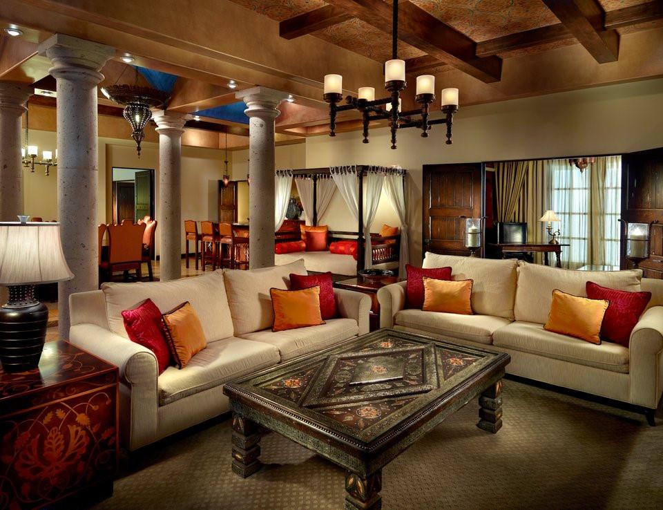 """Theo giới thiệu từ Omni, căn phòng khổng lồ này cung cấp """"nơi nghỉ ngơi, sinh hoạt sang trọng, kín đáo và yên tĩnh cho những khách hàng cao cấp""""."""