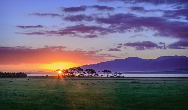 Từ đó, nhiều hòn đảo ở Thái Bình Dương đã cố giành danh hiệu này nhưng không thành công. Cả Samoa và Tokelau đã bỏ qua ngày 20/12/2011 khi chuyển sang đường đổi ngày phía New Zealand nhưng vẫn sau Gisborne - thành phố đầu tiên đón ánh mặt trời năm mới. Ảnh: Hicks Bay Motel.