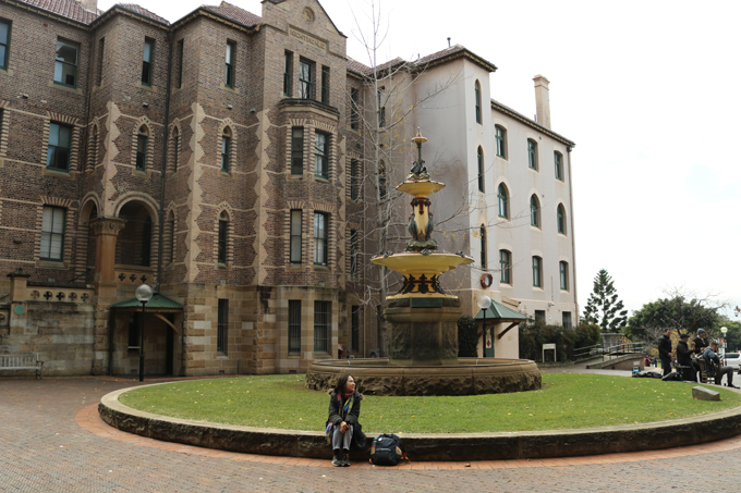Toà nhà The Nightingale Wing của bệnh viện Sydney.