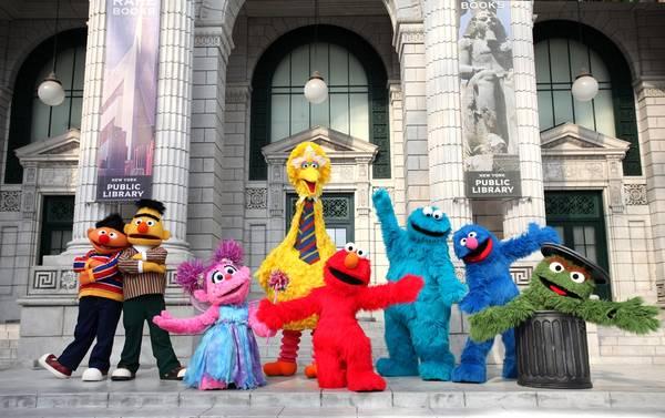Sesame Street sẽ trở thành tàu lượn