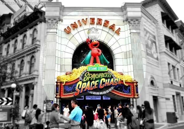 Sesame Street Spaghetti Chase ở Universal Studios Singapore