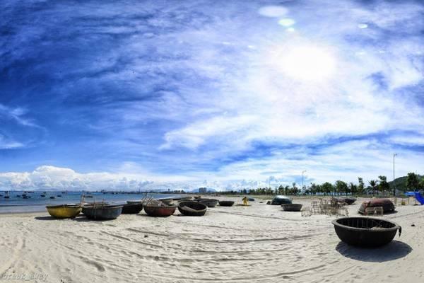 Một góc bãi biển Mỹ Khê, Đà Nẵng. Ảnh: Quang Vu