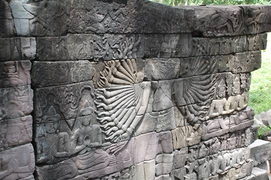 Chạm khắc ở Banteay Chhmar
